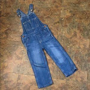 Gymboree toddler jean overalls